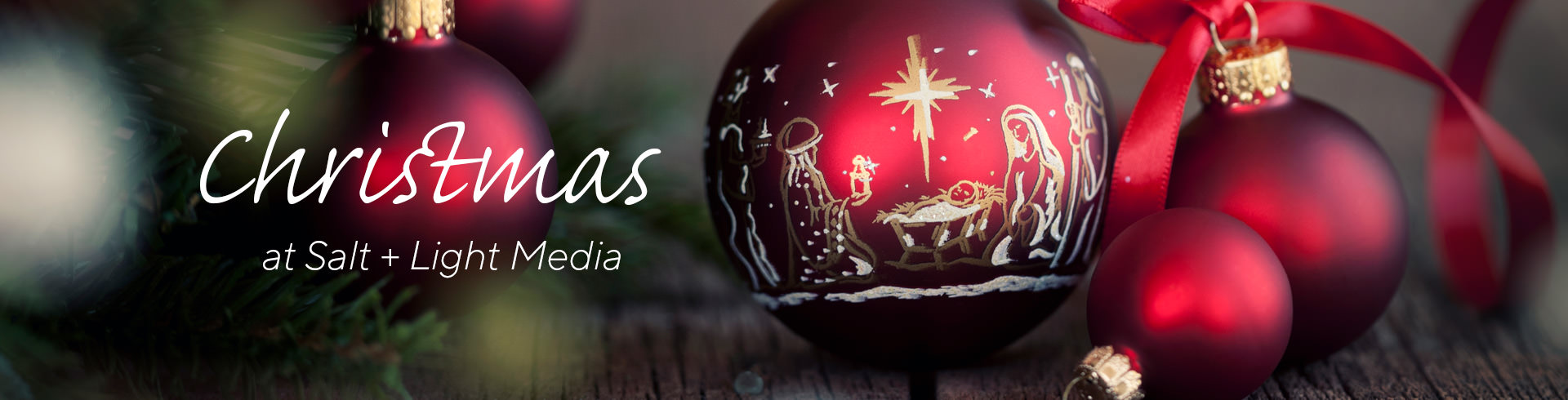 ADVENT AND CHRISTMAS IN SALT + LIGHT MEDIA